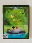 Authentic Disney Original The Jungle Book Animated Movie Blu-ray And Dvd In Vault
