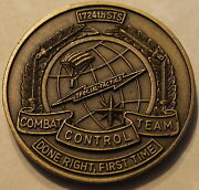 1724th Special Tactics Sq Tier 1 Cct Pararescue Air Force Challenge Coin / 24th