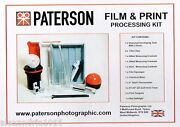 Paterson Photographic Darkroom Film And Print Processing Kit  Ptp 572
