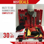 Hilti Te 60 Hammer Drill Preowned Original Free Extras Strong Fast Ship