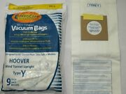 18 Windtunnel Upright Type Y Vacuum Bags By Envirocare For Hoover Y Vacuums