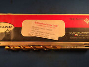 New Cleveland 23/64 Loral Aircraft Hss Drills Tanged Tin Coating 5-pack