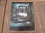 Jan Saudek Margrit Learns To Fly Rare, Signed, Hand Colored Photograph