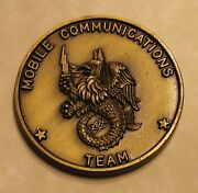 Naval Special Warfare Group 1 Mobile Comm Team Navy Challenge Coin / Seal / One