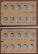 1793-1857. All Dates And Principal Varieties Us Half Cents Meghrig Nos 5 Pages
