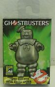 Sdcc Ghostbusters Angry Stay-puft Metal Bottle Opener By Diamond Select New