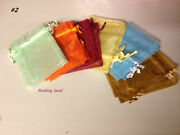 Assorted Organza Wedding Favor Bags Jewellery Pouches Gift Party Mixed Bags