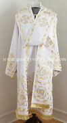 Orthodox Bishop's Vestment White Embroidered Or Any Color