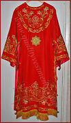 Orthodox Bishop's Embroidered Vestment Red Or Any Color