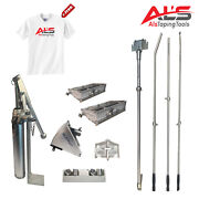 Platinum Finishing Set Of Automatic Drywall Taping Tools W/ 3 Angle Head