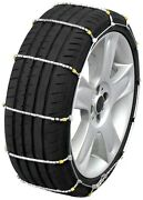 225/75-14 225/75r14 Tire Chains Cobra Cable Snow Ice Traction Passenger Vehicle