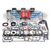 Mercedes Om904 4.3l Turbocharged - 42mm Pin And Plastic Oil Pan - Overhaul Kit