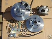 1958 Chevy Impala Bel Air Front Disc Brakes Bolts To Stock Spindles