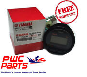 Yamaha Oem Multi-function Gauge Tachometer Tach Outboards New 6y5-8350t-d0-00