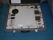 Transdata 2100 Series 2100 Portable Automated Meter Test Set W/power Cord, Case