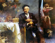 Pino Fleeting Moments   Signed Giclee/canvas   32x40   Others Avail   Gallart