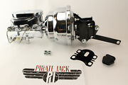 Ford Galaxie And Fullsize Cars Chrome Power Brake Booster Assembly