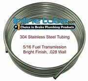 304 Stainless Steel Brake Fuel Transmission Line Tubing 5/16 Od Coil Roll
