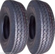 Two 570x8, 570-8, 5.70x8, 5.70-8 Boat, Utility, Trailer Tires Load Range C 6 Ply