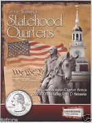 1999-2009 P And D Bu Statehood Dc And Us Territories Washington Quarters Collection