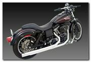 Samson Caliber 2-into-1 Exhaust Model C2-720 For Harley Dyna Glide 2006 And Up