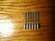 6 Lionel 1661-29 Motor Brushes And 6 1661-30 Coil Springs For 229 Pre War Engine