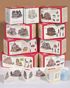 All 9 Liberty Falls 1998 Americana Collection Houses, Plus Figurines And More