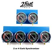 2fastmoto Carburetor Synchronizer Kit 2 4 Carb Sync Synch Tool Victory Buell