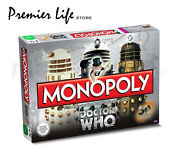 Doctor Who Monopoly 50th Anniversary Edition Dr Who Trading Game Board Game