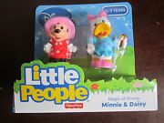 Fisher Price Little People Minnie Mouse Daisy Duck Magic Disney Mickey's Friend