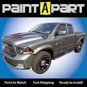 New Dodge Ram 2009 2010 Truck Andnbsp1500 Fender Flares Painted To Match - Bolt Style
