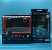 Mophie Juice Pack Pro Battery Case/holster Iphone 4s/4-black+ Outride Sealed