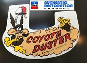 1969 1970 Plymouth Road Runner Coyote Duster Air Cleaner Decal 69 70 Mopar New