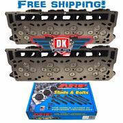 New Improved 6.0 Ford Powerstroke Diesel Loaded Cylinder Head Pair 03-05 No Core