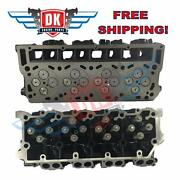 New Oand039ringed Complete Ford 6.0 18mm Turbo Diesel Truck Cylinder Heads Pair 03-05