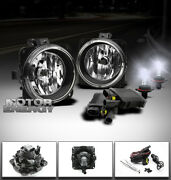 00-07 Focus/mustang/escape/lincoln Ls Bumper Fog Lights+8000k Hid+switch+harness