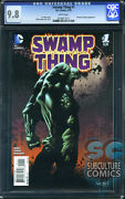 Swamp Thing 1 - Cgc 9.8 - Sold Out - First Print - Relaunch First Issue