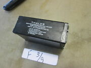 Used Thales Non-rechargable Battery Holder For Military Radio For Dl123 Li-ion