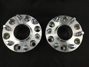 2x Hubcentric 1.0 Inch 25mm Wheel Spacers ¦ 6x5.5 6x139.7 ¦ 14x1.5 Fits Chevy