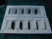 Boat Vent Louver 14 Bilge Exhaust Sea Ray Silverton 14-1/8 X 5-5/8 Must See