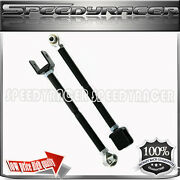 For Nissan 240sx 95 96 97 98 S14 Rear Lower Control Toe Arm Kit Black