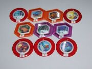 Disney Infinity Rare Tru Power Disc Complete Toys R Us Exclusive Set 10/10 Used