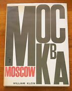 Signed - William Klein - Moscow - 1964 1st Edition W/dust Jacket - Fine Copy