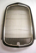 1932 Ford Coupe Roadster Sedan Steel Radiator Shell W/ Stainless Grille Insert