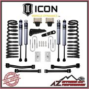 Icon 4.5 Suspension System Stage 1 For 2003-2008 Dodge Ram 2500 3500 4wd