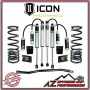 Icon 2.5 Suspension System Stage 2 For 2003-2012 Dodge Ram 2500 3500 4wd