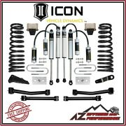 Icon 4.5 Suspension System Stage 2 For 2009-2012 Dodge Ram 2500 3500 4wd