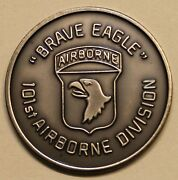 101st Airborne Division Brave Eagle Screaming Eagles Army Challenge Coin