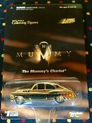 Nib Johnny Lightning Whiteand039s Guide The Mummyand039s Chariot Gold Diecast Car