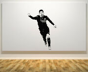 Lionel Messi Argentina Football Player Decal Wall Art Sticker Picture Poster